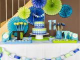 Blue and Green Birthday Party Decorations I Love Doing All Things Crafty Simple Blue and Green