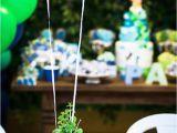 Blue and Green Birthday Party Decorations Kara 39 S Party Ideas Green and Blue Balloon Party Decor