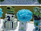 Blue and Green Birthday Party Decorations Lime Green and Blue Train Birthday Party Ideas In Blume