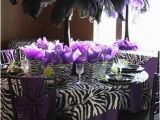 Blue and Purple Birthday Decorations events A to Z Z is for Zebra themed Parties Sweet City