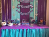 Blue and Purple Birthday Decorations I Like This Child Bathe Banner Purple Turquoise