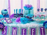 Blue and Purple Birthday Decorations Purple and Blue Candy Buffet Ideas Bridal Shower Ideas