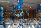 Blue and Silver Birthday Decorations Corporate Dinner Party Decorations Archives