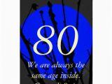 Blue Moon Cards Birthday 80th Birthday Blue Moon Greeting Card Zazzle