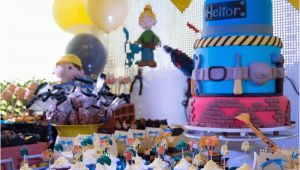 Bob the Builder Birthday Decorations Kara 39 S Party Ideas Bob the Builder themed Birthday Party