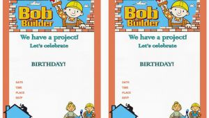 Bob the Builder Birthday Invitations Bob the Builder Birthday Invitations Birthday Printable