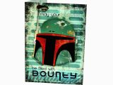 Boba Fett Birthday Card Star Wars Boba Fett Birthday Card May Your Birthday Be