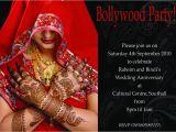 Bollywood Birthday Invitations Black Swirl Bollywood Birthday