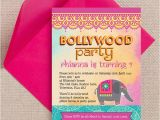 Bollywood Birthday Invitations Bollywood Children 39 S Party Invitation From 0 80 Each