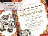 Bollywood Birthday Invitations Bollywood Invitation Indian Invite Middle Eastern
