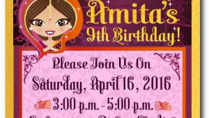 Bollywood Birthday Invitations Bollywood Party Birthday Invitations Bollywood Birthday