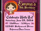 Bollywood Birthday Invitations Printable Digital Bollywood Party Birthday Invitation Di