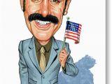 Borat Birthday Card Sacha Baron Cohen as Borat Sagdiyev Painting by Art