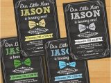 Bow Tie Birthday Invitations Little Boy Birthday Invitation Bow Tie Invitation Design Boy