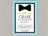 Bow Tie Birthday Invitations Little Man Birthday Invitation Bow Tie Birthday
