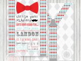 Bow Tie Birthday Invitations Printable Mustache and Bow Tie Template for Baby Shower