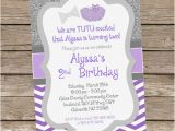 Bow Tie Birthday Invitations Tutus and Bow Tie Glitter Birthday Invitation Diy
