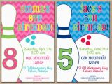 Bowling Alley Birthday Party Invitations 17 Best Images About Bowling Party On Pinterest