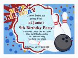Bowling Alley Birthday Party Invitations Bowling Birthday Party Invitation Zazzle