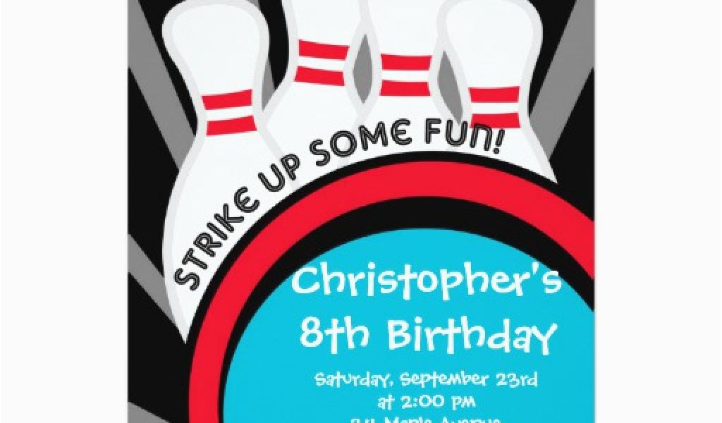 Download By SizeHandphone Tablet Desktop Original Size Back To Bowling Alley Birthday Party Invitations