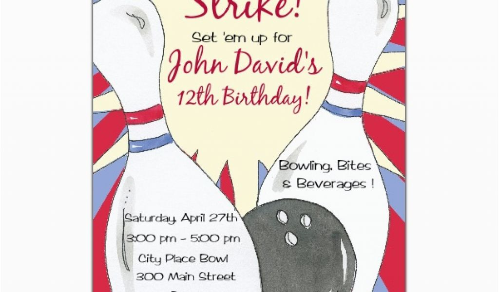 Download By SizeHandphone Tablet Desktop Original Size Back To Bowling Birthday Party Invitation Wording