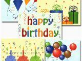 Boxed Birthday Card assortment Bulk Boxed Business Birthday Note Card Happy Birthday