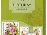 Boxed Birthday Card assortment Celebrating You 12 Birthday Cards with Envelopes