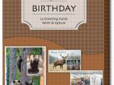 Boxed Birthday Card assortment Wild and Free assorted Box Of 12 Christian Birthday