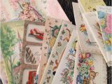 Boxed Birthday Cards assortment Vintage All Occasion assortment Boxed Greeting Cards and