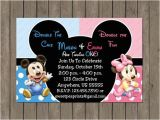 Boy Girl Twin Birthday Invitations 10 Best Twins 1st Birthday Images On Pinterest Birthday