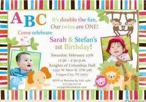 Boy Girl Twin Birthday Invitations 48 Best Cute Twin Birthday Invitations Images On Pinterest