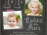Boy Girl Twin Birthday Invitations Best 25 Twin First Birthday Ideas On Pinterest Baby