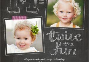 Boy Girl Twin Birthday Invitations Best 25 Twin First Birthday Ideas On Pinterest Baby