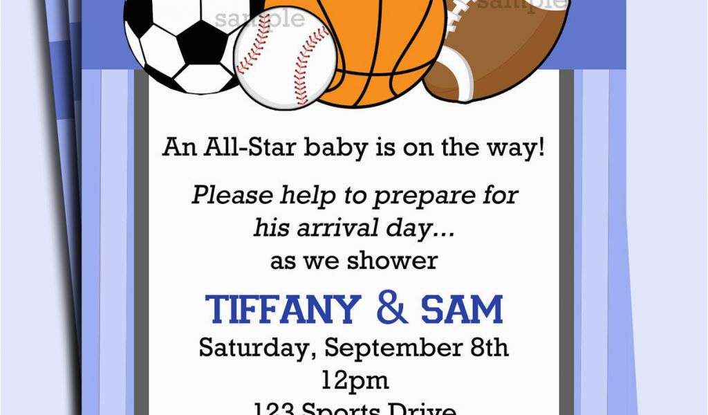 Download By SizeHandphone Tablet Desktop Original Size Back To Boy Sports Birthday Invitations