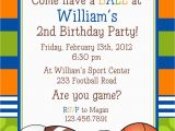 Boy Sports Birthday Invitations Sports Birthday Invitations Template Resume Builder