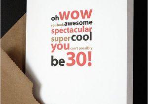 Boyfriend 30th Birthday Card Happy For Him Her Friend Husband