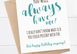 Boyfriend 40th Birthday Card Birthday Card Funny Boyfriend Card Funny Girlfriend