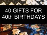 Boyfriend 40th Birthday Ideas 40 Gifts for 40th Birthdays Little Blue Egg
