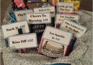 Boyfriend 40th Birthday Ideas Inside The Turning Gift Basket My Friend