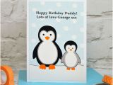 Boyfriend Birthday Gifts Not On the High Street 39 Penguin 39 Personalised Birthday Card From Children by