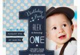 Boys 1st Birthday Invites First Birthday Party Invitation Boy Chalkboard Zazzle Com