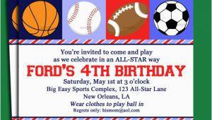 Boys Sports Birthday Invitations Blank Free Printable Birthday Invitations for Boys Free