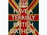 British Birthday Cards Terribly British Birthday 365 Birthday