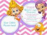 Bubble Guppie Birthday Invitations Bubble Guppies 1st Birthday Invitations Best Party Ideas