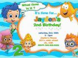 Bubble Guppie Birthday Invitations Bubble Guppies Birthday Invitations Ideas Bagvania Free
