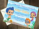 Bubble Guppie Birthday Invitations Bubble Guppies Birthday Party Printable Invitation