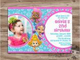 Bubble Guppie Birthday Invitations Items Similar to Bubble Guppies Birthday Invitation Girls