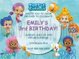 Bubble Guppie Birthday Invitations Personalized Bubble Guppies Birthday Invitation Digital