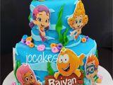Bubble Guppies Birthday Cake Decorations Bubble Guppies Cake Jocakes