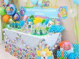 Bubble Guppies Birthday Decoration Ideas Bubble Guppies Favor Table Idea Party City